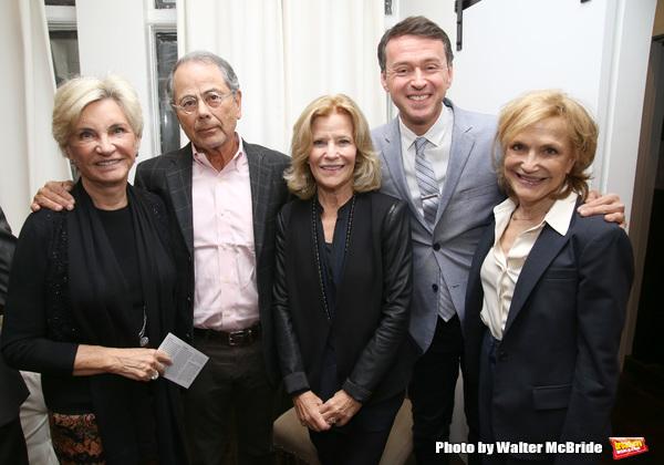 Nancy Harrington, Ron Harrington, Barbara Olcott, Andrew Lippa and Lee Bryant