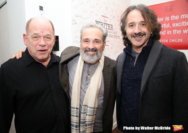 Peter Ratray, Craig Lucas and Frankie Krainz