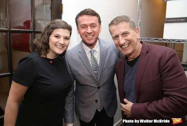 Rachel Routh, Andrew Lippa and Tom Kirdahy
