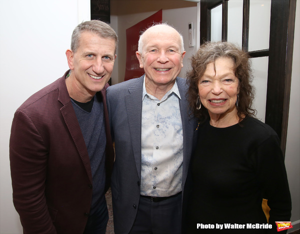 Tom Kirdahy, Terrence McNally and Gretchen Cryer