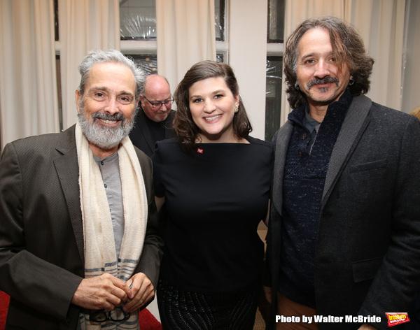 Craig Lucas, Rachel Routh and Frankie Krainz