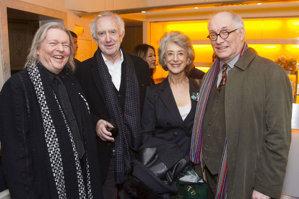 Christopher Hampton, Jonathan Pryce, Maureen Lipman and Simon Jones