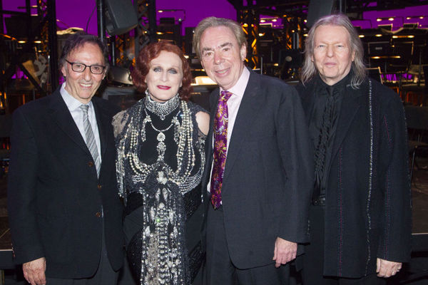 Don Black, Glenn Close and Andrew Lloyd Webber and Christopher Hampton