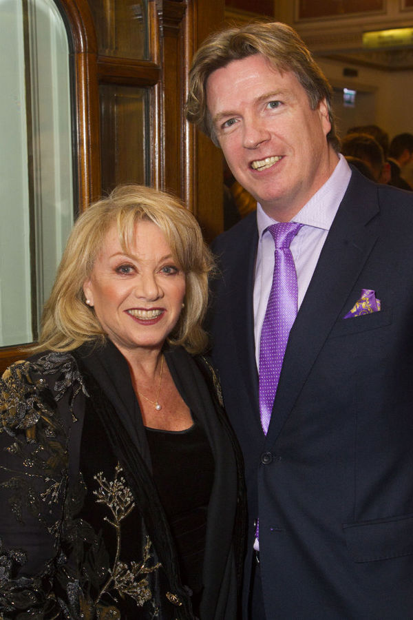 Elaine Paige and Justin Malinson