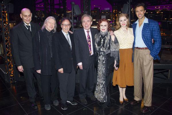 Fred Johanson, Christopher Hampson, Don Black, Andrew Lloyd Webber, Glenn Close, Siobhan Dillon and Michael Xavier