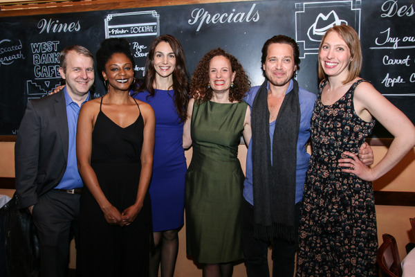 Nat DeWolf, April Matthis, Annie Parisse, Maria Striar, Rob Campbell & Crystal Finn
