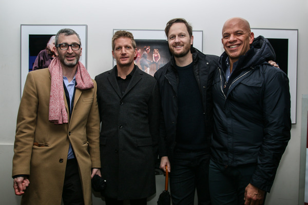 Daniel Aukin, Paul Sparks, Todd Almond & Mark Subias
