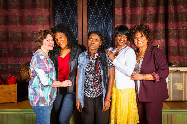 Photo Flash: Meet the Cast of SISTAS at Meadow Brook Theatre