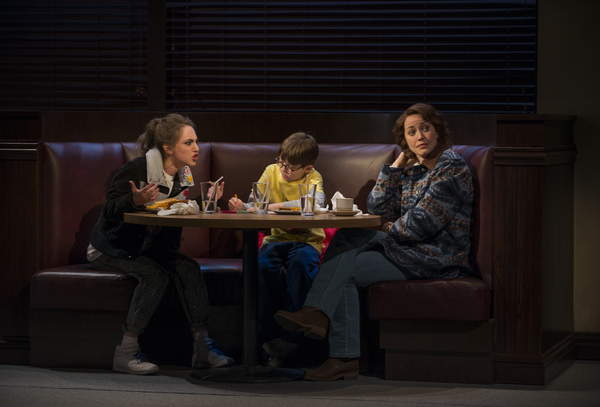 Madeline Weinstein (Wendy Gilbert), Jack Edwards (Louis Gilbert) and Rebecca Spence (Mary Page Marlowe)