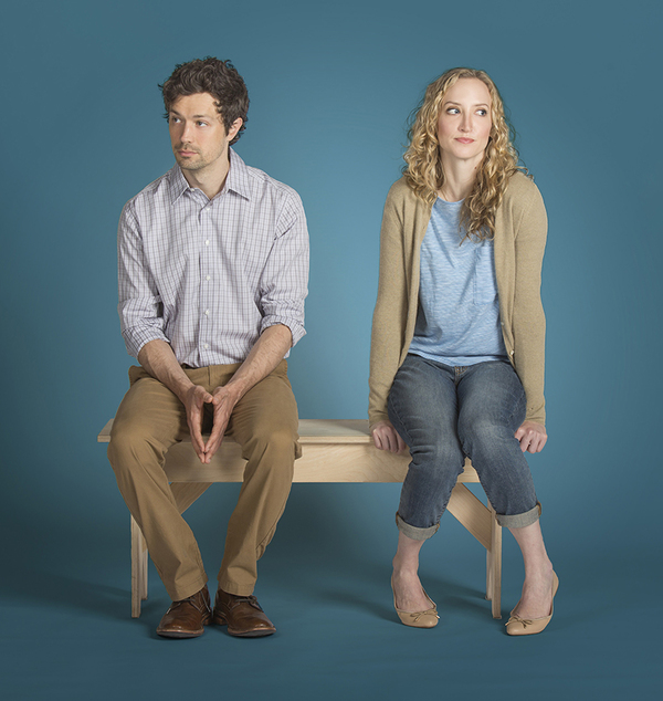 Christian Coulson stars as Roland and Victoria Frings as Marianne Photo