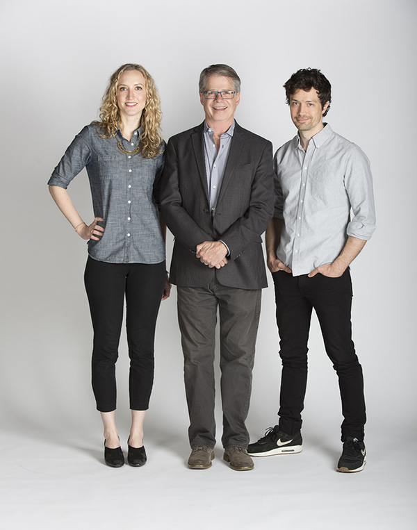 Richard Seer with Constellations Victoria Frings and Christian Coulson