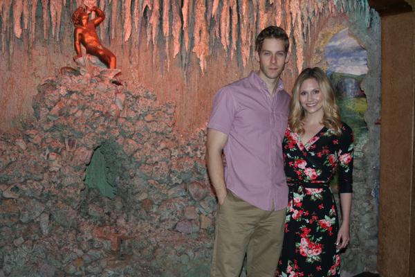 Audrey Cardwell & Andy Huntington Jones at the Majestic Theatre in San Antonio, Texas