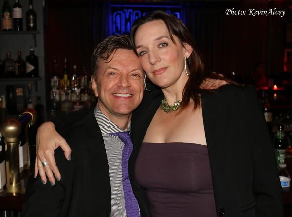Jim Caruso and Julia Murney
