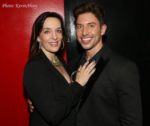 Julia Murney and Nick Adams