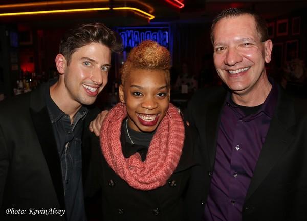 Nick Adams, Ariana Groover and Stephen Dimenna Photo