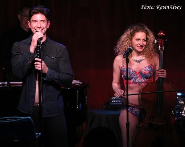 Nick Adams and Lauren Molina