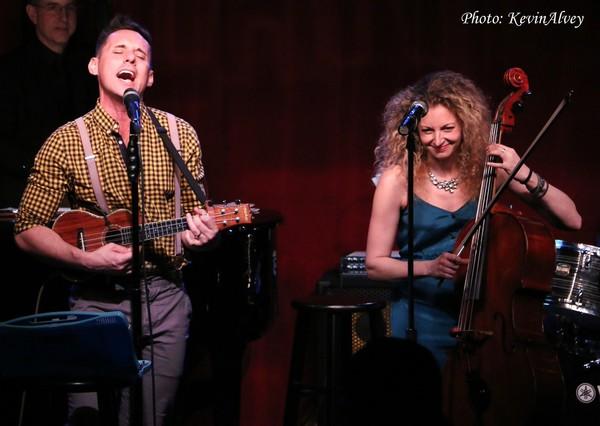 Nick Cearley and Lauren Molina