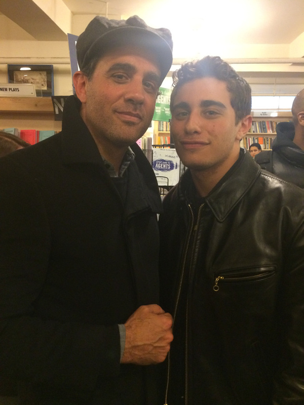 Photo Flash: Stephen Adly Guirgis Reads, Signs Plays at The Drama Book Shop with Bobby Cannavale and More