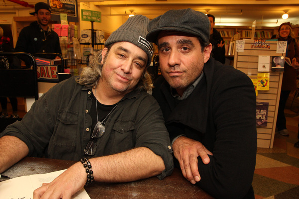 Stephen Adly Guirgis and Bobby Cannavale