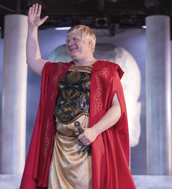 Jim Hopkins as Julius Caesar