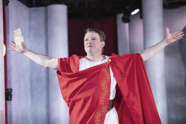 Nicholas Rose as Marc Antony Photo