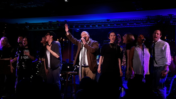 Photo Flash: DISASTER!'s Kerry Butler and More Join Joe Iconis at Feinstein's/54 Below