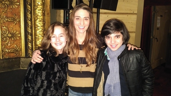 Sydney Lucas, Sara Bareilles, Oscar Williams Photo