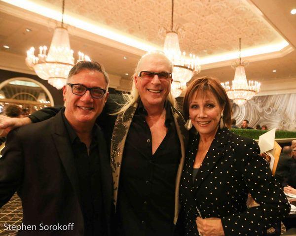 Eddie Bruce, Ron Abel, Michele Lee Photo