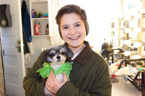 Photos: Tinkerbelle the Dog Visits Broadway's FINDING NEVERLAND