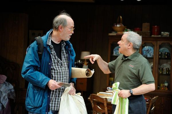 Timothy Crowe as Louis and Stephen Berenson as Bob