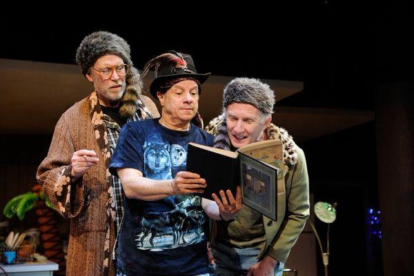 imothy Crowe as Louis, Stephen Berenson as Bob and Brian McEleney as Arnie