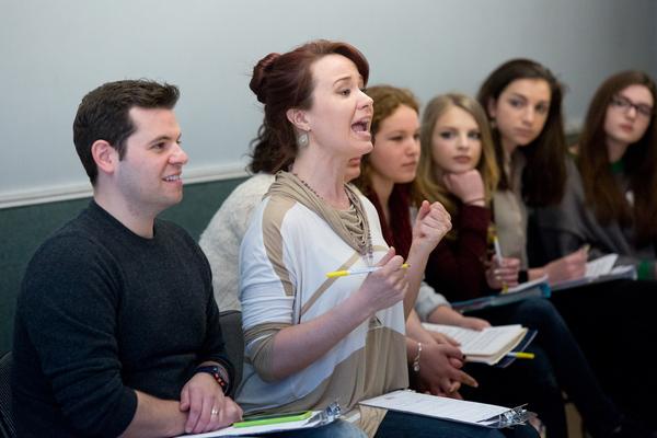 Photo Flash: Sierra Boggess Hosts Broadway Workshop Master Class