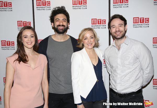 Heather Lind, Morgan Spector, Geneva Carr and Charlie Cox