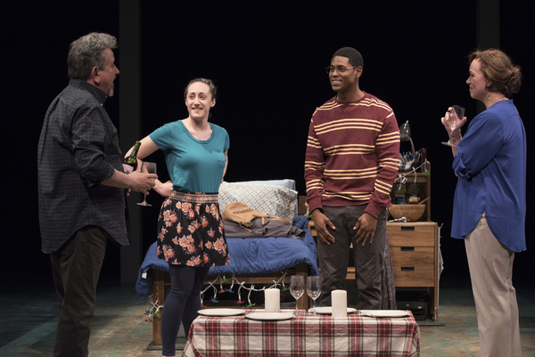 Jeff Still (Howard), Shayna Blass (Charlotte), Xavier Scott Evans (Jonny), and Emily Townley (Lucinda)