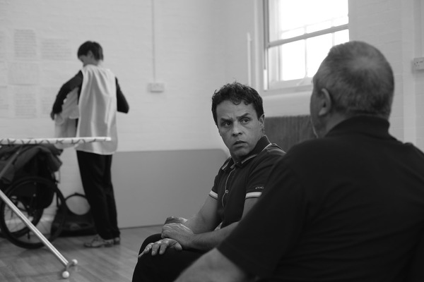 Photo Flash: BLUE ON BLUE Begins Tonight at the Tristan Bates Theatre