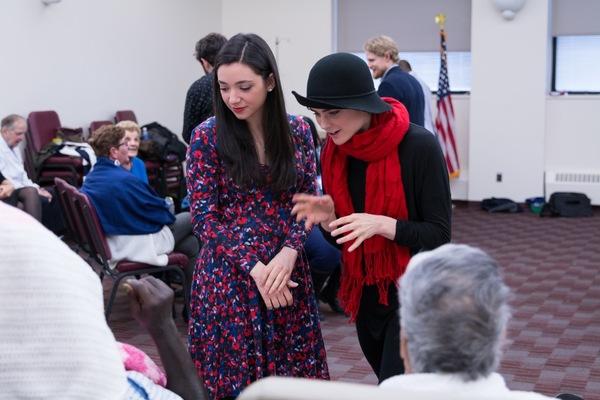 Julie Benko and Melanie Moore