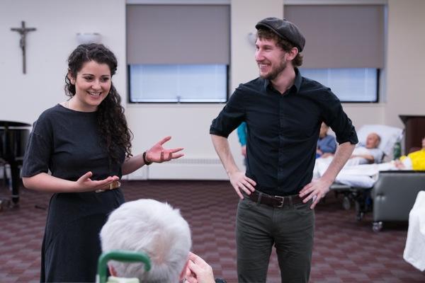 Tess Primack and Matt Moisey