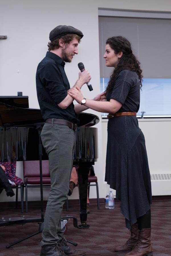 Matt Moisey and Tess Primack