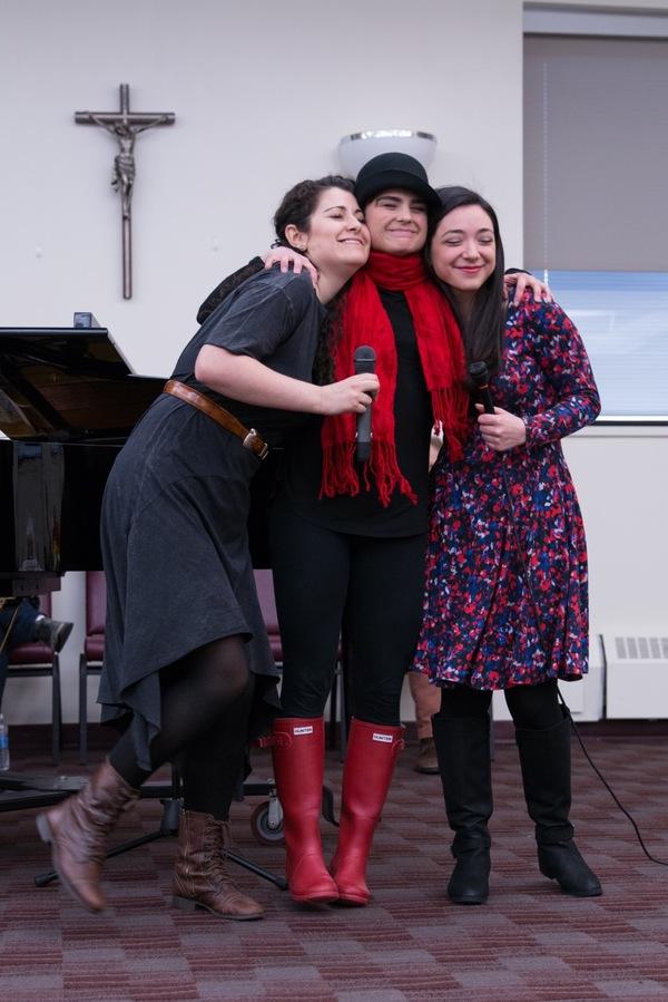 Tess Primack, Melanie Moore and Julie Benko