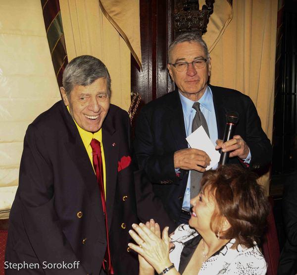 Jerry Lewis, SanDee Lewis, Robert DeNiro