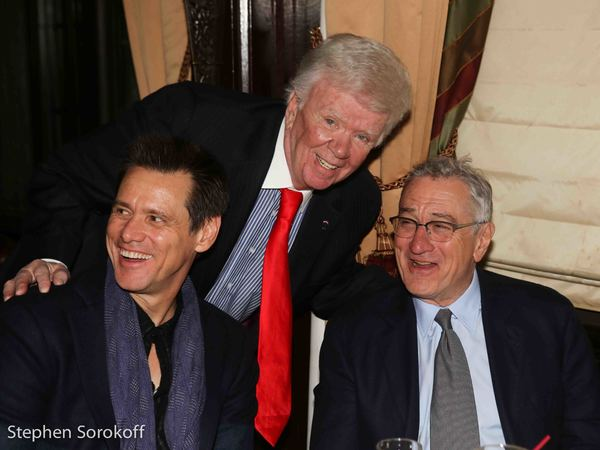 Jim Carrey, Dick Robinson, Robert De Niro