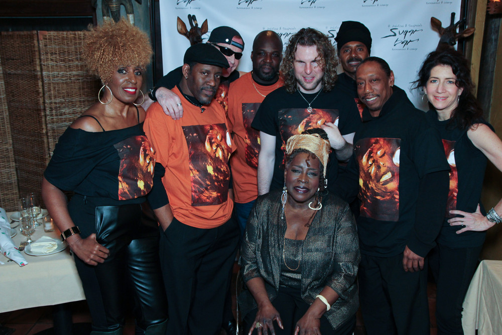 High Res Aziza Miller (background vocals), Dennis Moriarity (harmonica), Mark Bowers (guitar), Phonzie Wesby (drums), Ebony Jo-Ann, Chulo Gatewood (bass), Howie Robbins (keyboards) and Valerie Ghent (background vocals)