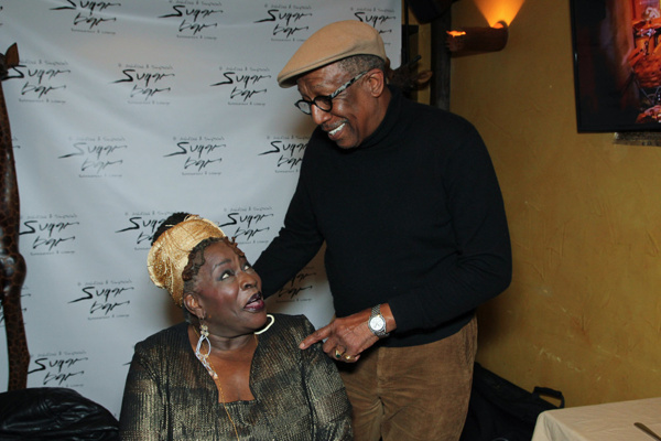 Ebony Jo-Ann and George Faison