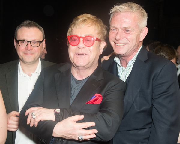 Lee Hall, Elton John, and Stephen Daldry