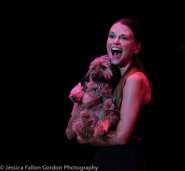 BWW Exclusive: TAILS OF BROADWAY- Sutton Foster Cuddles Up with Her Perfect Pooch, Mabel!