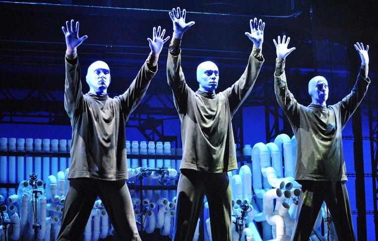 High Res BLUE MAN GROUP Kicks Off First-Ever World Tour in Singapore.