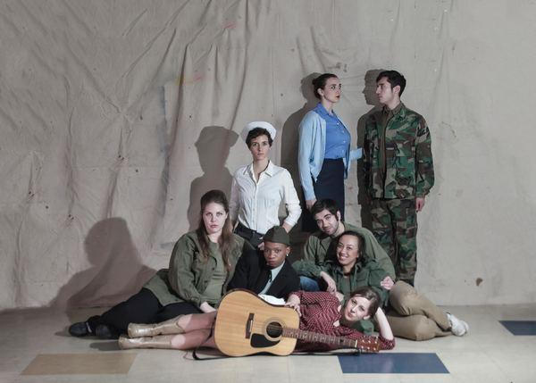 hitney Masters, Maren Rosenberg, & Erick Rivera (Middle, Left to Right) Ivory Stahly, Jyreika Guest, Zoe Agapinan, & Nathan Dunn (Bottom) Taylor Molandro
