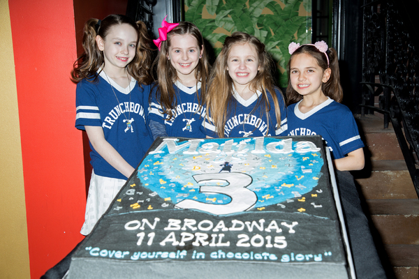 Photo Coverage: The Maggots of MATILDA Celebrate 3 Years on Broadway!