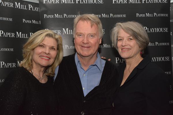 Debra Monk, John Foley and Cass Morgan (Author) Photo