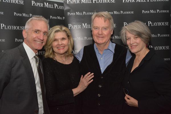 Mark S. Hoebee, Debra Monk, John Foley and Cass Morgan Photo